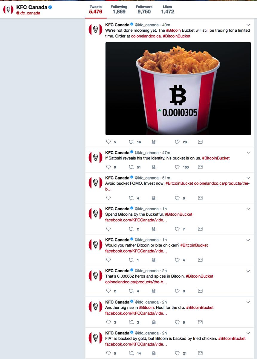 KFC Canada kfc canada Twitter