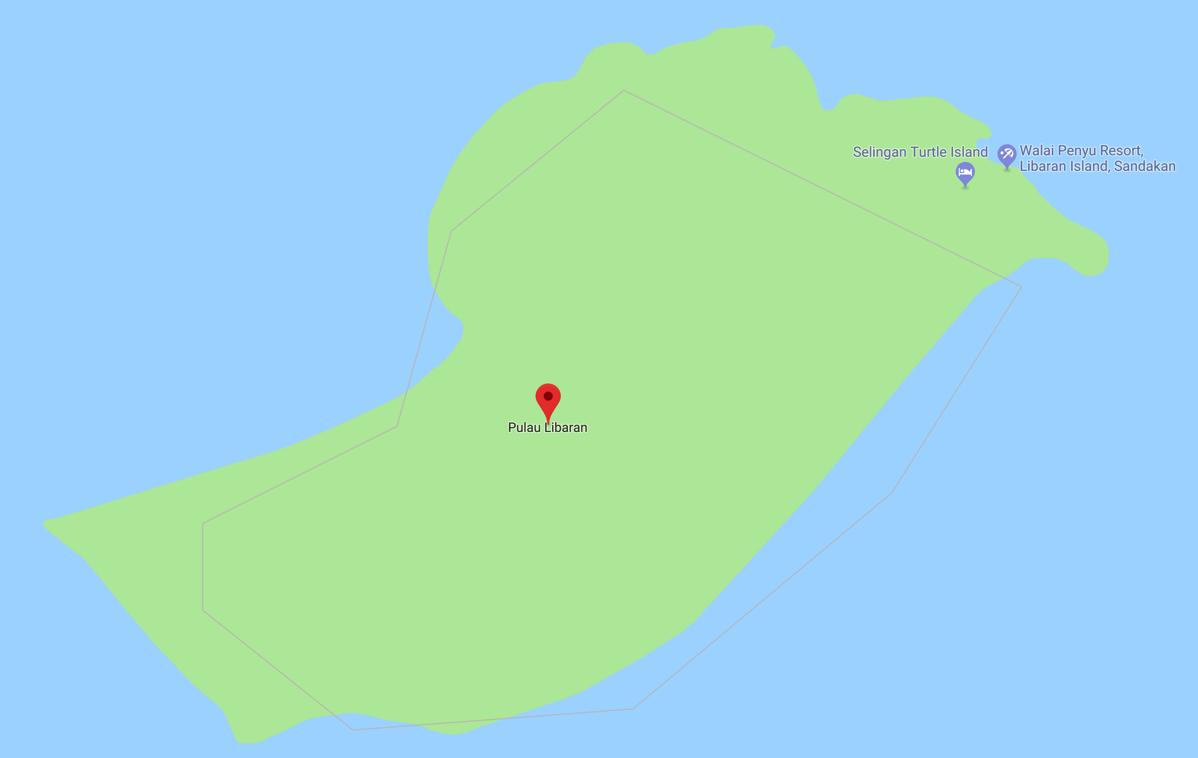 Pulau Libaran Google Maps